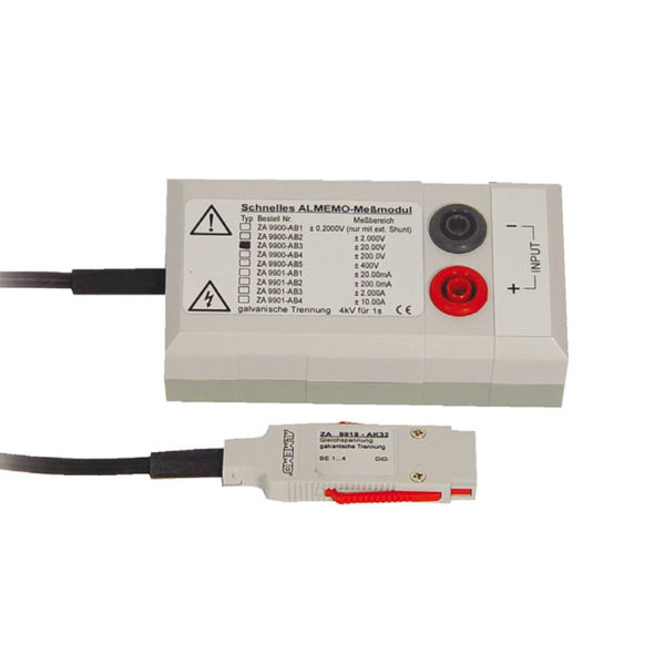 ALMEMO Measuring Module: DC Voltage, with Electrical Isolation, 4kV